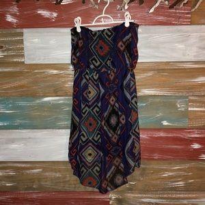Deb Dresses - Strapless Aztec Design Dress